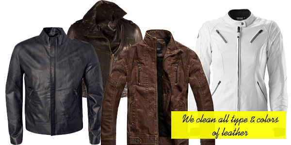 We provides leather cleaning service for a range of garments and items, including; coats, jackets, suits, waistcoats, skirts, trousers, gloves